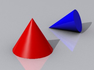 Examples of Cone Shaped Objects http://newtondynamics.com/wiki/index.php5?title=Collision_primitives
